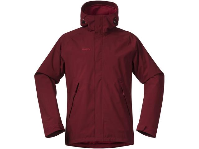 Bergans Ramberg Jacket Men burgundy/red